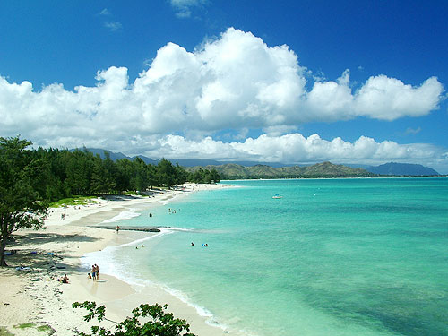 Views Of Kailua Beach