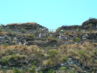 Hiking Trail on Diamond Head
