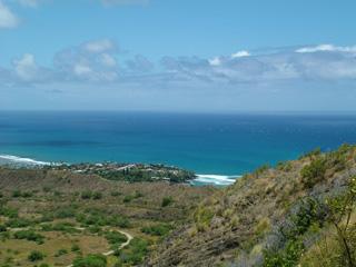 View from Diamond Head Summit
