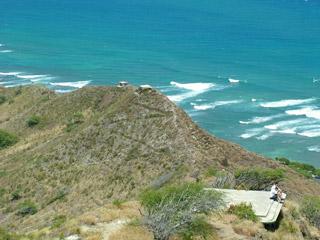 Observation bunker on Diamond Head