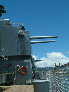 Side View of USS Missouri
