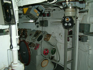 Navigation Room on USS Missouri